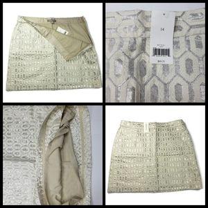 New, MSRP $89, Banana Republic skirt, size 14, has